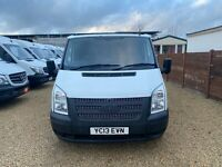 Ford Transit 100ps T260 FWD SWB (EU5) 2013 Direct Council 64K Miles