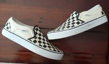 VANS Womens Slip - On Checkerboard Shoes Size 7 (721356)