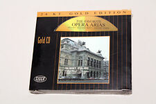 The Favorite Opera Arias - CISCO Gold CD Audiophile - Sealed