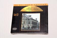 The Favorite Opera Arias - CISCO Gold CD Audiophile - Sealed