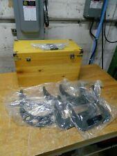 6pc Mechanical Outside Micrometer Set 6 12 Range 6 Micrometers 6 Standards