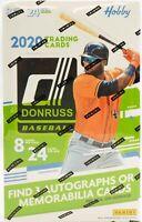 2020 Donruss Baseball Hobby Box Break 1 Random Team #001