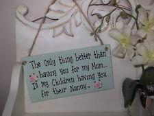 Unbranded Wooden Mum Decorative Indoor Signs/Plaques