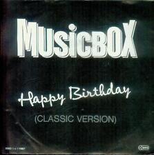 "7"" Musicbox/Happy Birthday (Austria)"