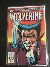 Wolverine 1st limited series 1-4 high grade mint/near mint