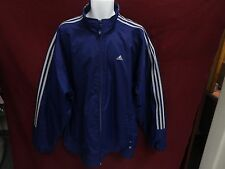 Adidas 3 Stripe Men Track Jacket Size XL