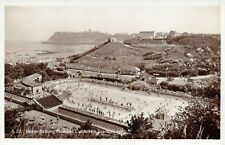 Vintage Yorkshire 50s Real Photo Scarborough Postcard North Bay Swimming Bathing