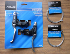 3.5 Finger Cantilever Brake Levers & 2 Brake Cables XLC Set Mountain Bike New