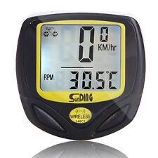Premium for Wireless Bike Bicycle Cycle Computer Speedometer Odometer Waterproof