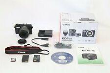 Canon EOS M 18.0 MP Digital Mirrorless Camera EX+ IN BOX + Bonus 18-55mm Lens