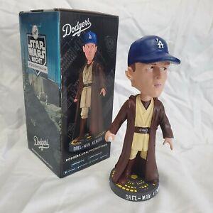 2021 LA Dodgers Orel Hershiser Orel-Wan Kenobi Star Wars Bobblehead Imperfect