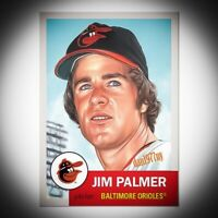 Topps Living Set Card #175 Jim Palmer. Free Shipping &*Price Guaranteed
