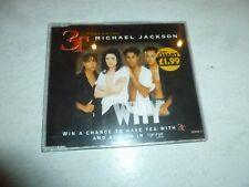 3T featuring MICHAEL JACKSON - Why - 1996 UK 4-track CD single