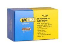 5000 X 10mm Tacwise Rapesco Ct60 cable grapadora grapas (1cm) Galv 0354