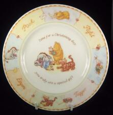 Royal Doulton Disney Winnie the Pooh Christening Plate