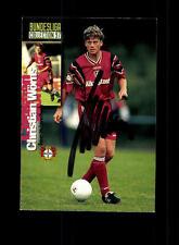 Christian Wörns  Bayer Leverkusen Panini Card 1997 Original Signiert+ A 158054