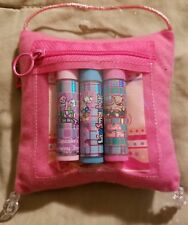 Adorable Sweet Dreams Smackers Pillow with 3 Pets Lip Smackers~Rare