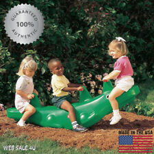 Deluxe Kids SeeSaw Crocodile Teeter Totter Durable Swing Playground Green Toy Us