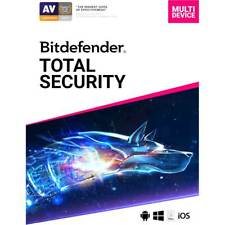 Bitdefender Total Security (5-Device) (1-Year Subscription) - Android, Mac, W...