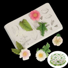 Plants Sugarcraft and Chocolate Moulds for Cake Decorating
