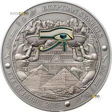 20$ 2015 Palau - Ägyptische Symbole / Egyptian Symbols - Eye of Horus 3 oz