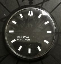 BRAND NEW 30MM WHITE MARKERS SPACEVIEW CRYSTAL FOR BULOVA ACCUTRON