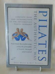 Pilates the Authentic Way - Keft Burdell Dina Matty DVD Fitness Workout