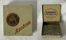 More details for vintage empty metal azolom cigarillos tobacco tin #mnt6