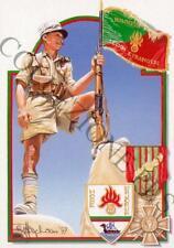 Cartolina/Carte postale: 13éme Demi Brigade Légion Etrangère, Bir Hacheim 1942
