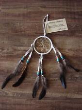 """Native American Handmade 3"""" Dreamcatcher Navajo Indian"""