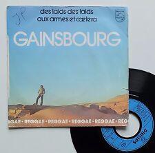 """SP Serge Gainsbourg  """"Aux armes et caetera"""""""