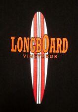 LONGBOARD VINEYARDS surfing tee Pinot Noir med T shirt logo Healdsburg Cali