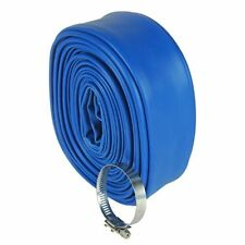 Swimming Pool Backwash Flexible Strong Vinyl Drain Hose 50-Feet by 1-1/2 Inches