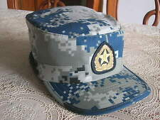07's China Pla Air Force,Airborne Troops Digital Camo Combat Training Cap,Hat