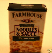 1 /12 scale dollhouse box of noodles and sauce 5/8'' t