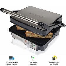 Plancha Grill y Sandwichera Press 180º, 4 Rebanadas 2000W - Placa antiadherente
