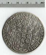 German States 1662 LW Brunswick-Luneburg-Celle Thaler Taler Ludwig Silver Coin