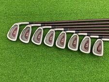 NICE Ram Golf FX OVERSIZE Womens Iron Set 3-PW SW Right RH Graphite LADIES NO 7