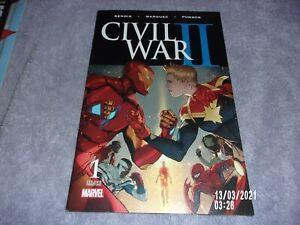 MARVEL CIVIL WAR II #1 SECOND PRINTING