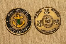 Naval Reserve Center Meridian, MS Challenge Coin