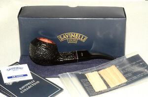 SAVINELLI VESUVIO 624 BENT BULLDOG PIPE ** NEW in BOX ** pfeife