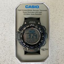 casio sgw1000-1a triple sensor altimeter barometer compass brand new