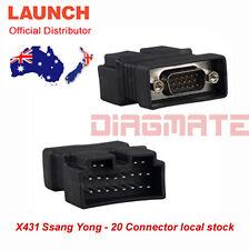 Original LAUNCH X431 Ssang Yong - 20 for PRO3 PRO SCANPAD PAD2 PAD IDIAG MASTER