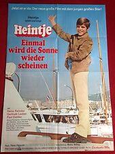 Heintje Einmal wird die Sonne wieder scheinen Kinoplakat A1 Filmplakat 1970
