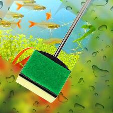 Aquarium Brush Cleaning Sponge Algae Scraper Fish Tank Handle Clean Tool