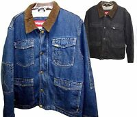Men's Wrangler Denim Full-Zip & Snap Workwear Jacket