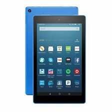 "Kindle Fire HD 8 Tablet with Alexa, 8"" HD Display, 32GB, Blue, 6th Gen 2017"