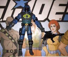 Cobra Neo-Viper 2002 Hasbro GI Joe Action Figure, Case & Accessories Lot A