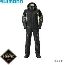 SHIMANO NEXUS Gore-Tex Fishing Rain Suits SET EX RA-119R Black Japan EMS NEW