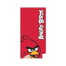 Toalla Angry Birds Roja / Beach Towel